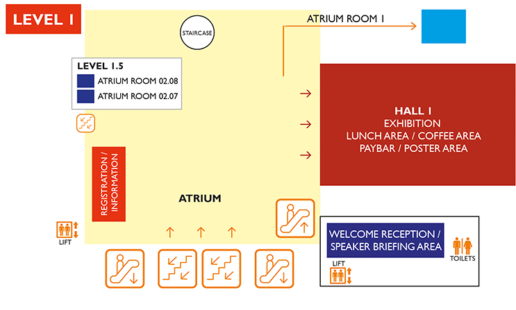 BEC Floor Plan - Level 1