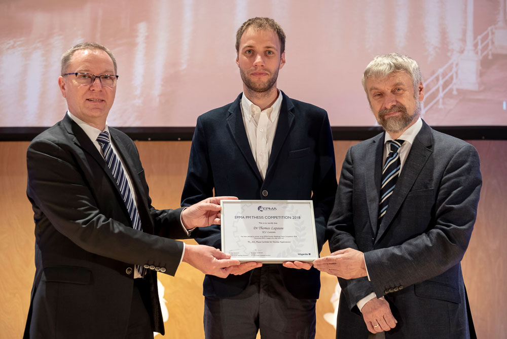 Thesis Competition winner 2018 - Masters Category - Thomas Lapauw